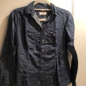 Ann Taylor loft denim shirt